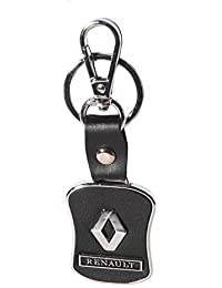 Asier Key Chain For Car Bike Black Leather Keychain Key Ring With Hook