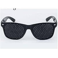 TO_GOO - Gafas con Agujero Negro para aliviar la Fatiga Ocular y la astigmatismo, 1 Unidad
