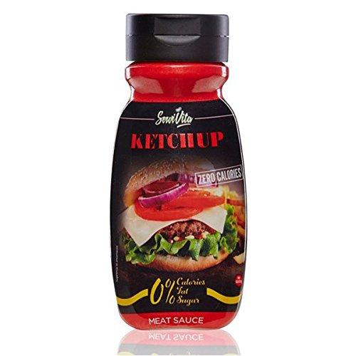 Servivita Salsa Ketchup sin Calorias 305 ml - Ketchup