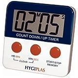 Hygiplas magnetisch Countdown Timer 63x 63mm Küche Gastronomie Lebensmittelzubereitung