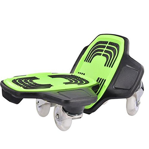 TTYY Freeline Drift Skates PU Räder Freeline Sports ABS Pedal Anti-Rutsch Verschleiß-Resisting , Green -