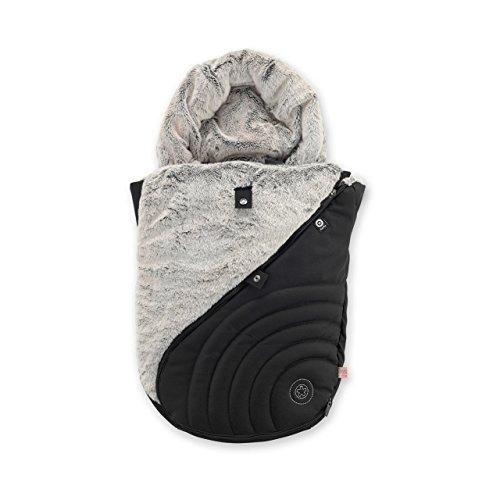 Preisvergleich Produktbild kiddy 41616FMF60 Universeller Fußsack, Babyschalen, schwarz
