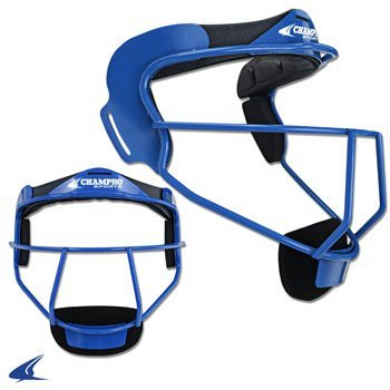 Champro Softball Defensive Facemask The Grill - Youth (Royal) by Champro - Champro Softball