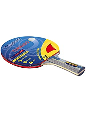 Garlando Racchetta da Ping Pong Tornado (6 Stelle) Multicolore