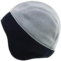 Gorros Gorro De Sombreros Gorras Calentar Cálido Unisex Beanie Sombrero Frío Exterior De Invierno para Hombre, Versátil Y Cálido ZHANGGUOHUA (Color : Gray)