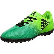 adidas X 16.4 TF J - Botas de fútbolpara niños, Verde - (Versol/