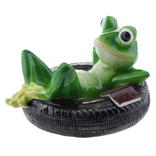 Teichfigur Set Frosch