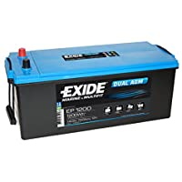 Exide EP1200 DUAL AGM Leisure Marine Battery 140 Ah - ukpricecomparsion.eu