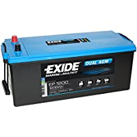 Exide EP1200 DUAL AGM Leisure Marine Battery 140 Ah preiswert