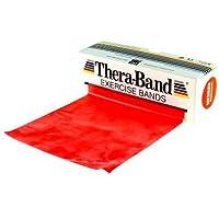 Thera-Band - Banda elástica para entrenamiento rojo mittel/rot Talla:5.50 m