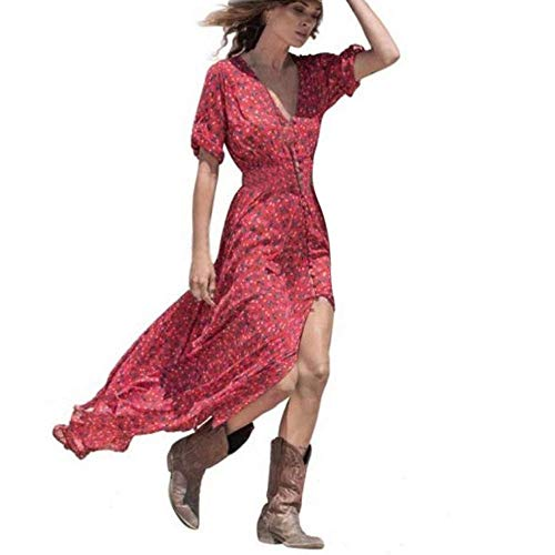 c296a26e72c LEvifun Robe Maxi Longue Femme Ete Chic Robe de Soiree
