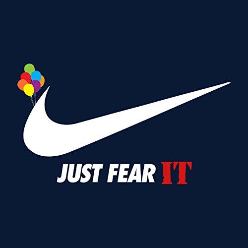 Just Fear IT Pennywise Nike Men's Vest Navy Blue