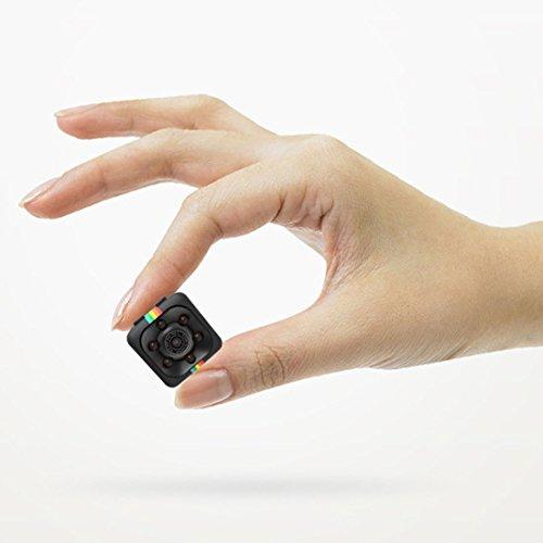 Mini Kamera,Full HD 1080P Tragbare Kleine Überwachungskamera, mit Bewegungserkennung und Infrarot Nachtsicht, WiFi