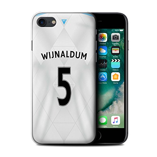Officiel Newcastle United FC Coque / Etui pour Apple iPhone 7 / Doumbia Design / NUFC Maillot Extérieur 15/16 Collection Wijnaldum