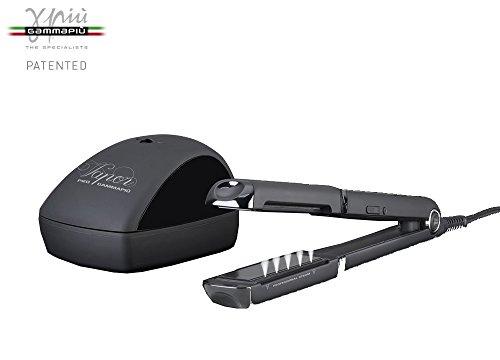 Gamma mehr pro Vapor Professional Steam Dampfreiniger Haarglätter Profi max 230°C mit Display Digital LCD und Matrizen in Turmalin