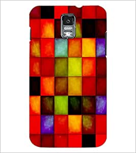 PrintDhaba Coloured Blocks D-4877 Back Case Cover for SAMSUNG GALAXY S5 (Multi-Coloured)