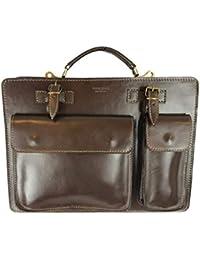 G.F. borsa bag cartella media porta documenti da lavoro vera pelle made in  italy FG testa di… 6a25bc7a6e9