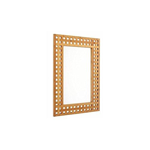 Espejo de cuarto de baño en bambú