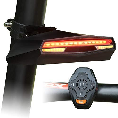 OTO Mountainbike Wireless Remote Control Rücklicht - 2000 Mah - USB Wiederaufladbar - Fahrradzubehör