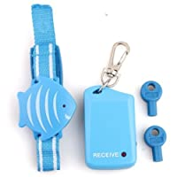 SODIAL(R) Kids Safety Wristband Anti-Lost Alarm Device Protect Child Outdoor
