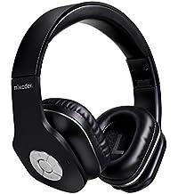 Auriculares Inalámbrico Diadema, Mixcder MSH101 Bluetooth 4.1 Plegable Hi-Fi Estéreo Con 3.5 mm Audio Jack Con Micrófono Para iPhone,Android, Mac,TV y cualquier Dispositivo Bluetooth -Negro