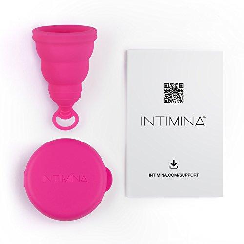 Intimina Lily Cup One - Die zusammenfaltbare Menstruationstasse für Anfänger - 3