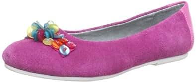 Indigo 422 197 Mädchen Ballerinas, Pink (fuchsia kombi 593), EU 33
