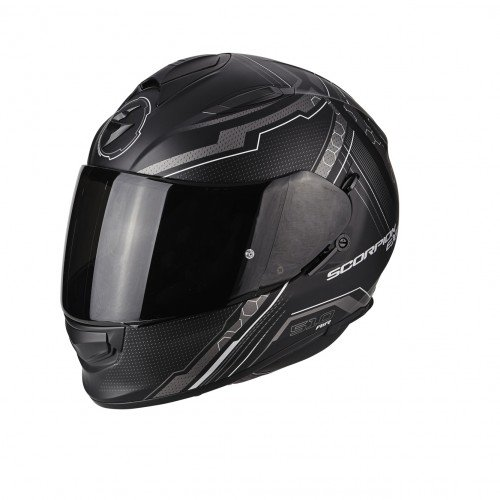 Scorpion Moto Casco Exo 510Air Sync, Negro, Tamaño M