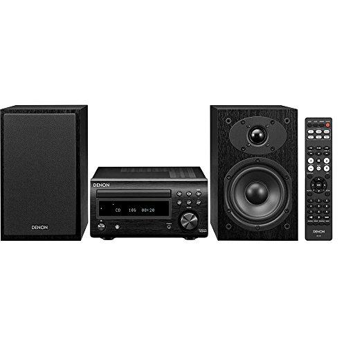 Denon D-M41 Home audio midi system 60W Negro, Plata - Microcadena (Home audio midi system, Negro, Plata, 60 W, De 2 vías, 12 cm, 2,5 cm)