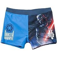 Star Wars-The Clone Wars Darth Vader Jedi Yoda Ragazzi Shorts da mare - blu