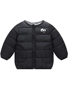JINZFJG Abrigo Acolchado para Bebé Niños Gruesa Chaqueta Algodón Otoño-Invierno Cálido con Mangas Largas