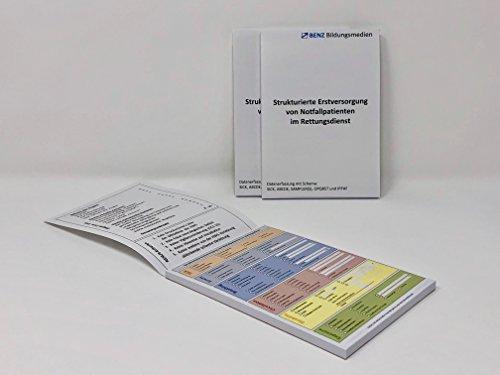 Block DIN A6 zur Kurz-Dokumenation für Rettungsdienst nach dem ABCDE- und SAMPLER-Schema (3)