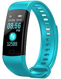 LanLan Reloj Multifuncional, Smart Watch, Pulsera Monitor de frecuencia cardíaca IP67 Waterproof Deportivo