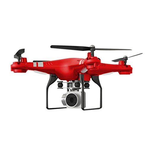 WYXlink 2017 Wide Angle Lens HD Camera Quadcopter RC Drone WiFi FPV Live Helicopter Hover (Red)
