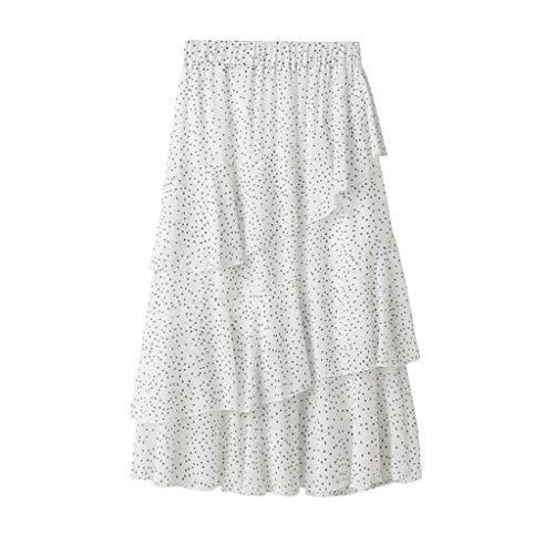 Proumy Vestidos&Faldas Damen Rock, Comprar más Con descuento en Proumy, Weiß, Comprar más Con descuento en Proumy One Size (Descuento De Vestidos)