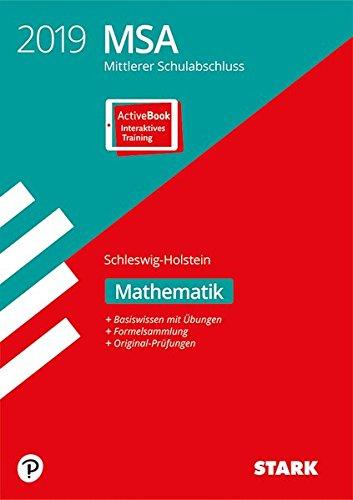 Mittlerer Schulabschluss Schleswig-Holstein - Mathematik, inkl. Online-Prüfungstraining: Ausgabe mit ActiveBook