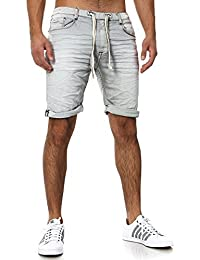 Sueur Denim Jogger Shorts Été Court Pantalon Sublevel 98-86 bleu foncé
