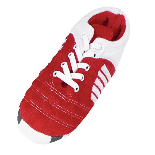 Footies  Footies Football Boot Slippers, Chaussons montants mixte enfant red