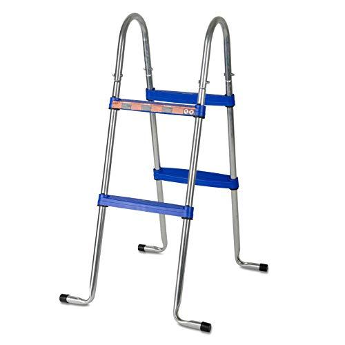 Gre AR109 - Escalera para Piscina Elevada, 98 cm