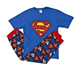 IndieGo Distribution Ltd Mens Superman Pyjamas