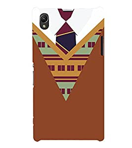 College Winter Dress Pattern 3D Hard Polycarbonate Designer Back Case Cover for Sony Xperia Z1 :: Sony Xperia Z1 L39h