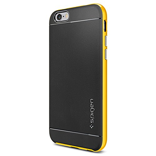 Spigen SGP11034 Neo Hybrid Series Case für Apple iPhone 6 reventon gelb (Spigen 6 Iphone Hybrid Neo Series)