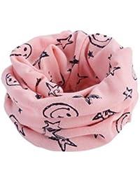 F-eshion - Pañuelo Decorativo para Sombrero de Cuello de Turbante, rosa1, 1