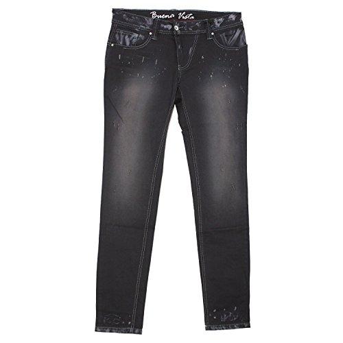 Buena Vista, Malibu-Zip, Damen Jeans Hose, Twill Stretch, nachtblau, M Inch ca. 32 L 32 [19671] (Twill Hose Jeans)