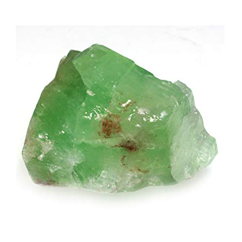 Green calcite healing crystal by crystalage