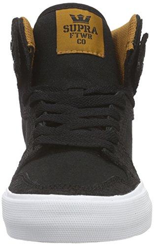 Supra Vaider, Sneakers Hautes mixte adulte Noir (BLACK / CATHAY SPICE - WHITE BKW)