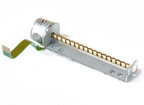 Worm-drive-motoren (Electromyne Laufwerk Stepper Wurm Schrittmotor Miniature Shaft Linear Drive Worm Motor 67mm (Generalüberholt))