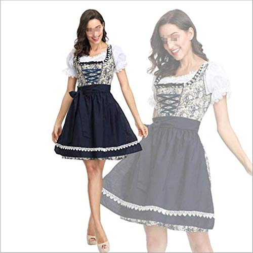 Erwachsene Frauen Oktoberfest Kostüm Sexy Bier Mädchen Uniform Bayern Deutsch Wench Maid Dirndl Party Kostüm,as - Deutsches Bier Mädchen Kostüm Frauen