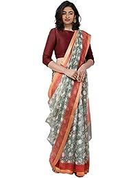 6f63837da9 Unnati Silks Women Pure Kota Silk Saree with blouse piece from the Weavers  of Rajasthan(