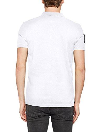 Kaporal Herren Poloshirt e17m91 Blanc (White)